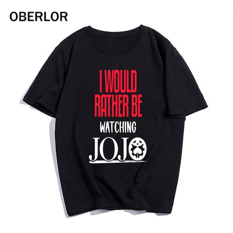 I Would Rather Be Watching JoJo Shirt