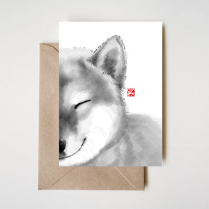 Smiling Shiba Greeting Cards Set of 8