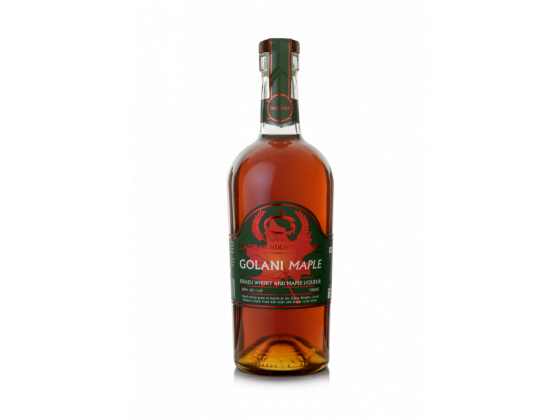 Whisky con arce Golan Heigts Distillery