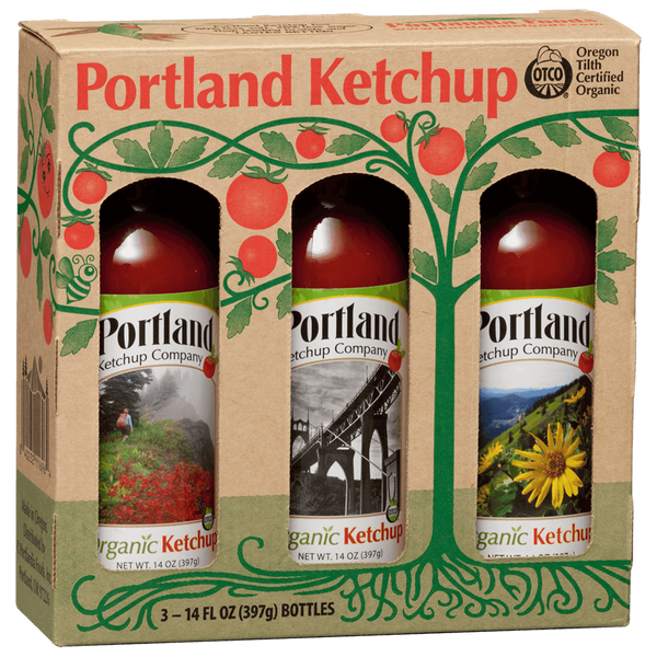 Organic Condiment Gift Boxes