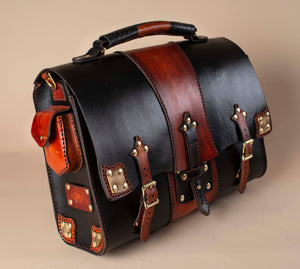 Leather Steampunk Bag