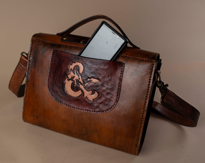 RPG Ampersand Leather Bag