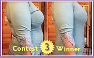 Third place Shapeez No Back-Fat Before & After Contest winner