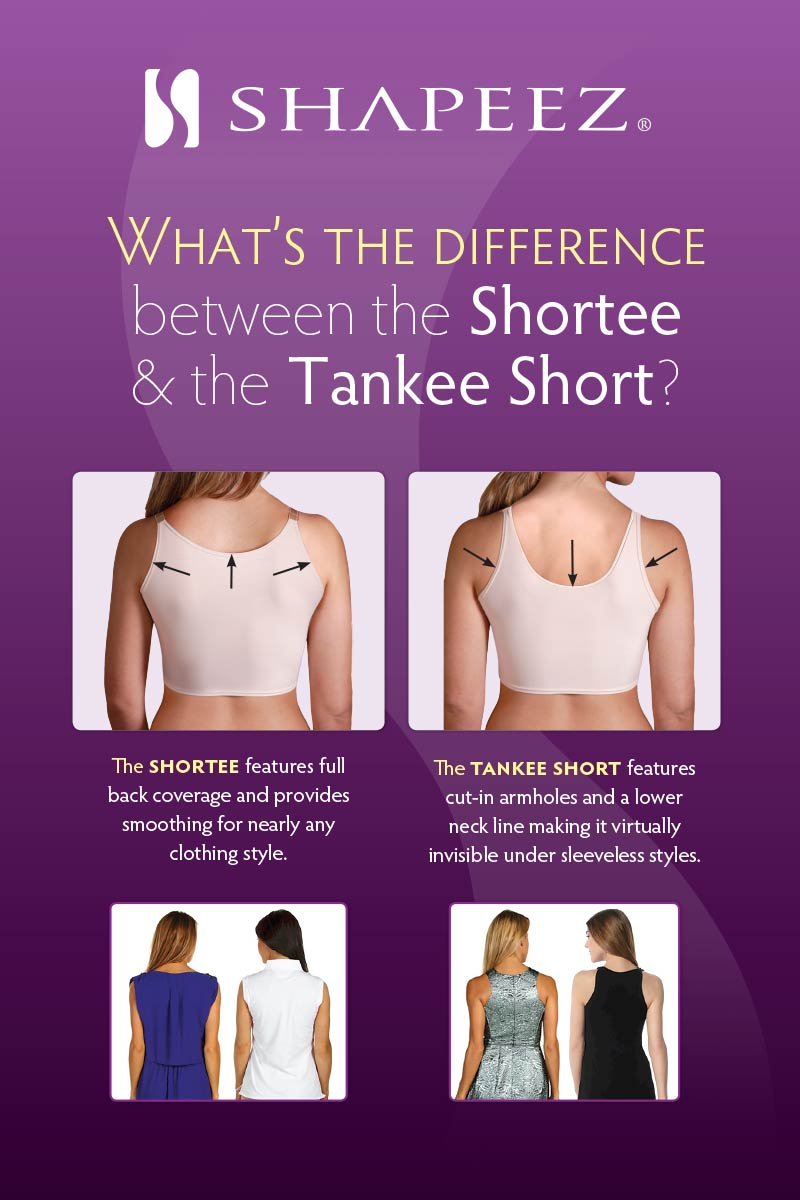 d31676c51125a The Original Tankee Short Back-Smoothing Ultra Comfortable Tee-Shirt ...