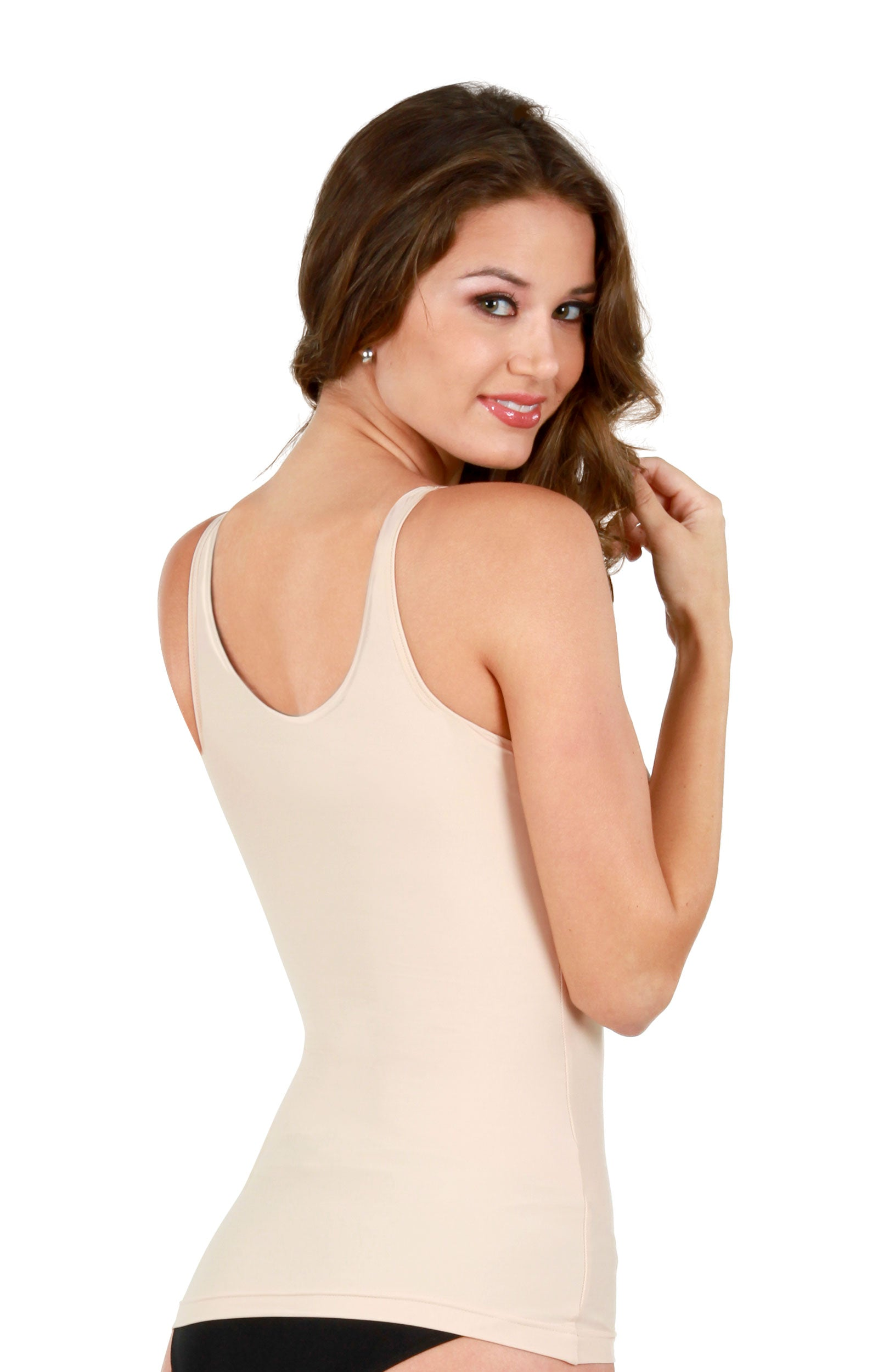 e47de782639d5 The Perfect Everyday Back Smoothing Minimizer Bra Shaping Camisole and  Longline Bra In-One - Shapeez