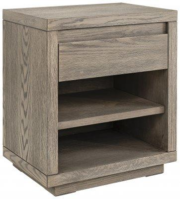 HUNTER sängbord antique grey oak - Olson Möbler i Åkersberga