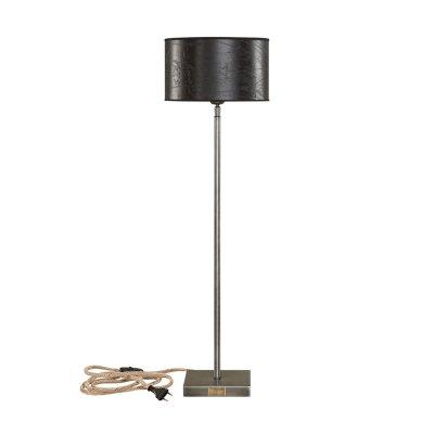 Pewter High Tablelamp Iron (no shade) - Olson Möbler i Åkersberga