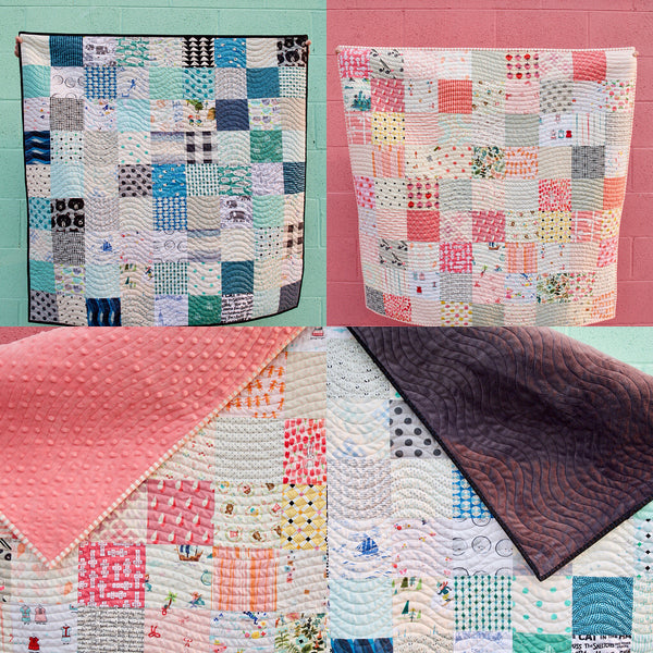 Patchwork Baby Quilt Kits by Maker Valley