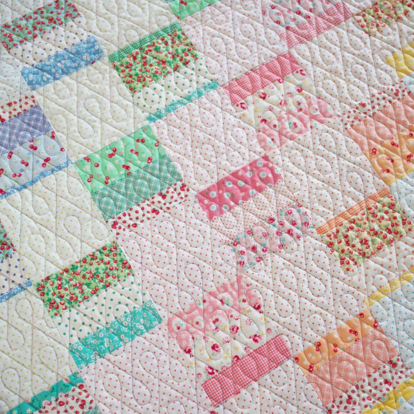 patchwork quilt by maker valley