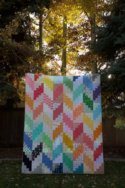 Jelly Filled Book Tour Marbled Cheesecake Quilt