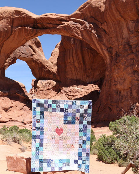 This is the Place Quilt by Maker Valley at Moab