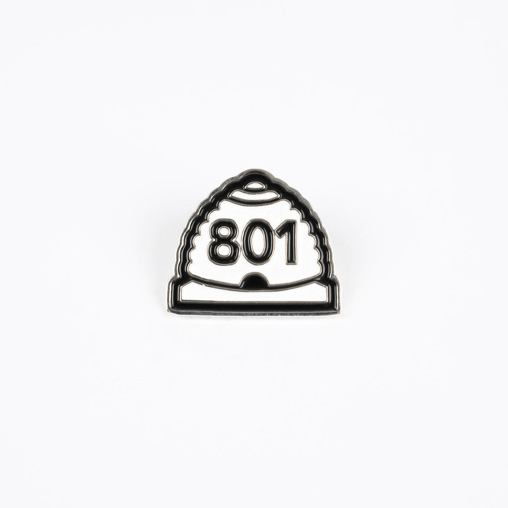 The 801 - Enamel Pin - Stately Type