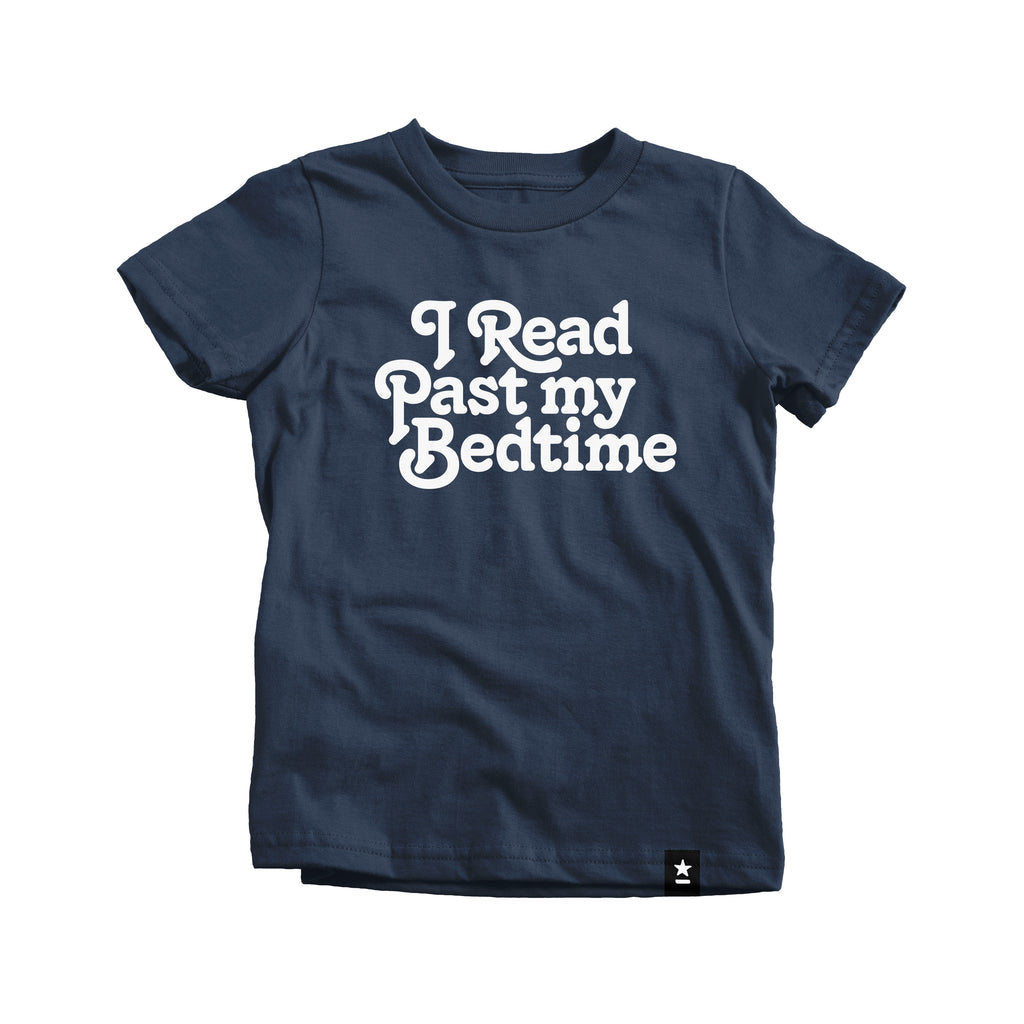 I Read Past My Bedtime T-shirt - Kids