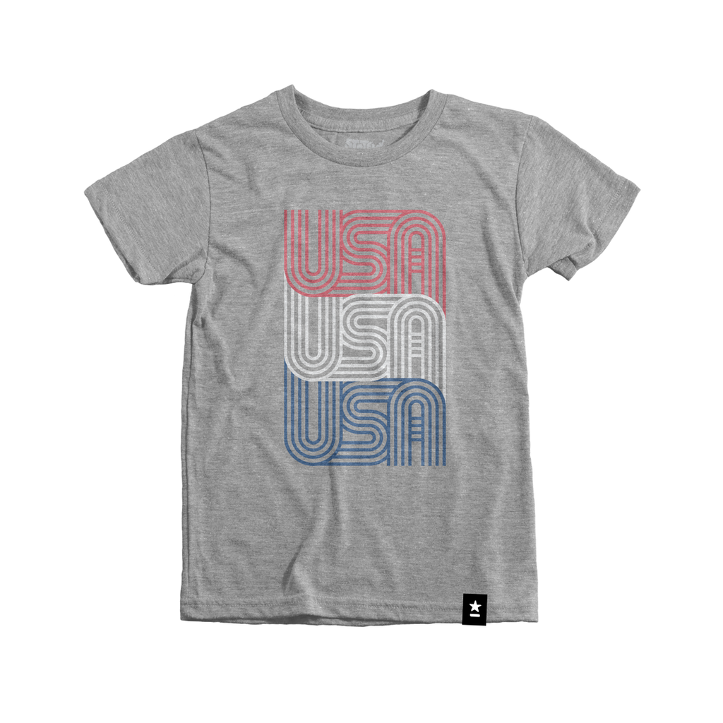 USA USA USA T-shirt - Kids