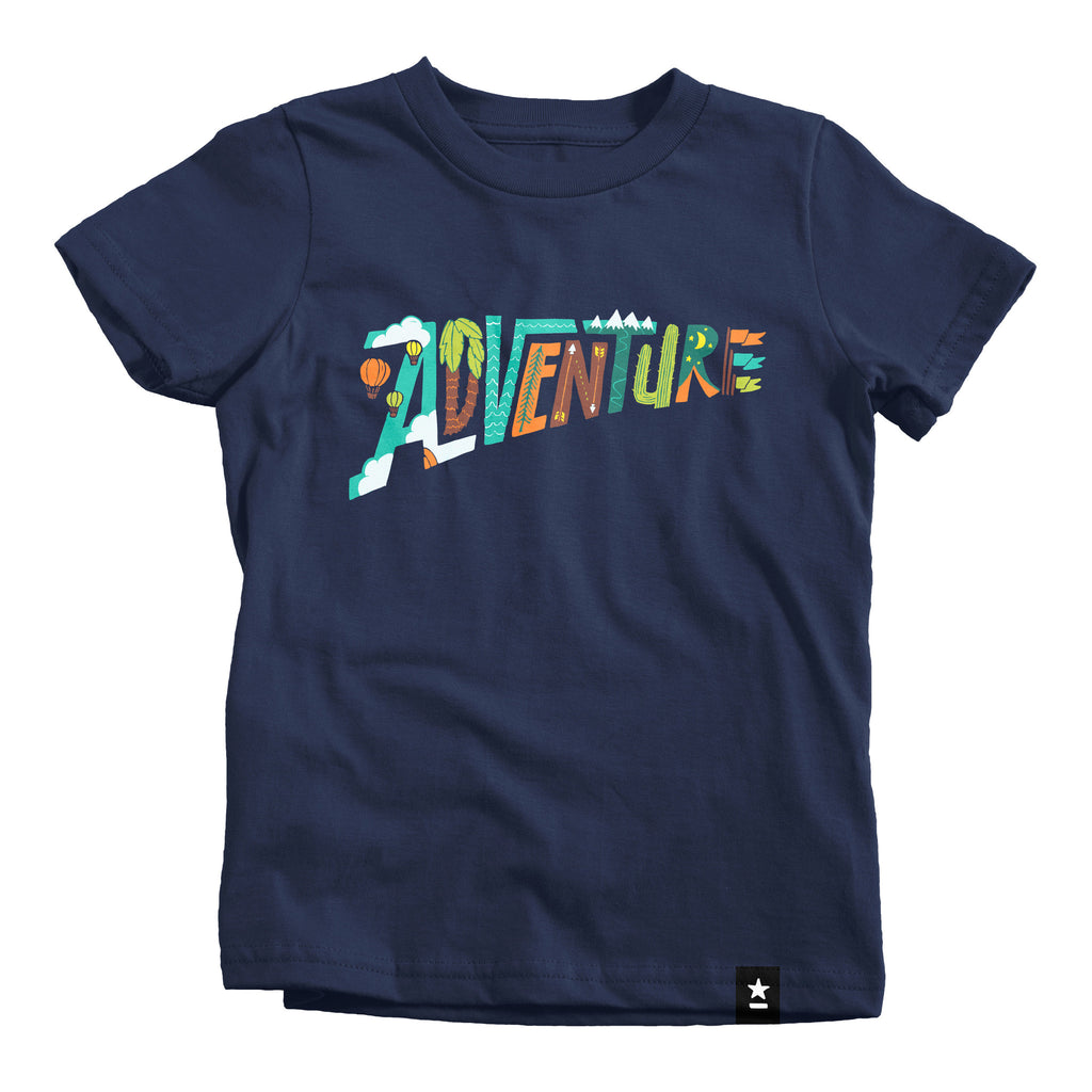 Adventure T-shirt - Kids - The Outdoor Majestic