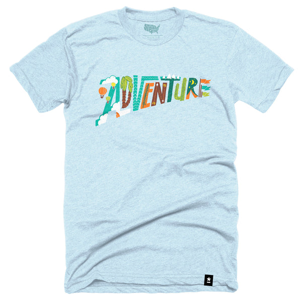 Adventure T-shirt - Stately Type