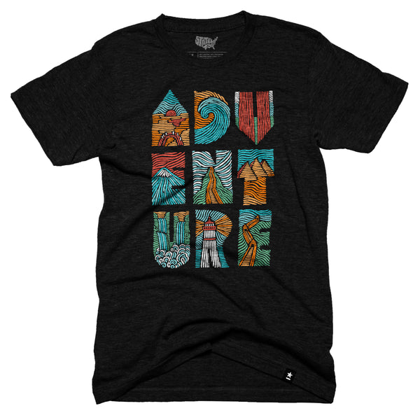 Adventure Woodcut T-shirt