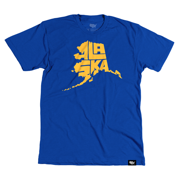 Alaska T-shirt - Stately Type