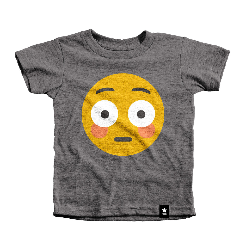 Blush Emoji T-shirt - Kids