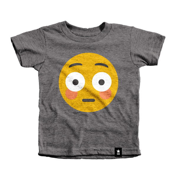 Blush Emoji T-shirt - Kids - Stately Type