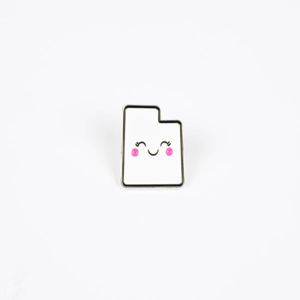 Cheeky Cutah - Enamel Pin - Stately Type