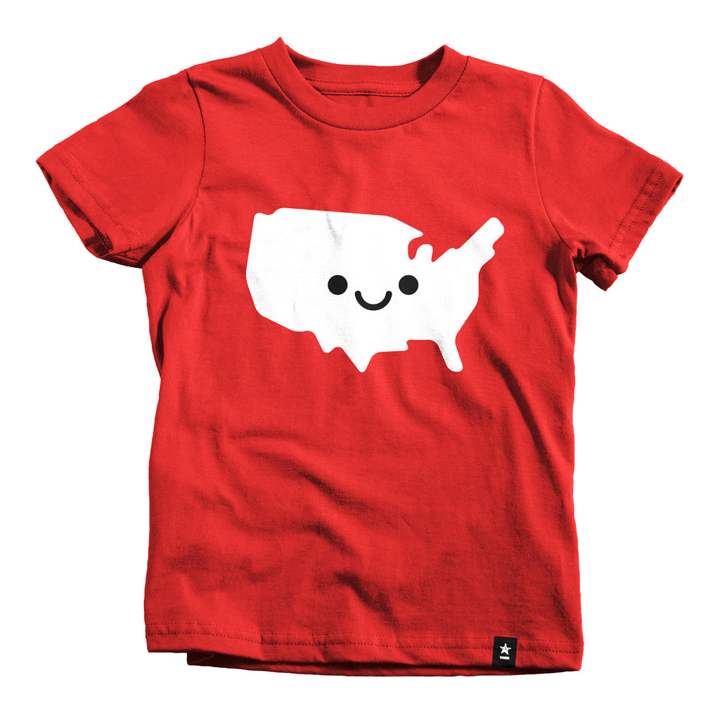 Cutenited States of America T-shirt - Kids - Stately Type
