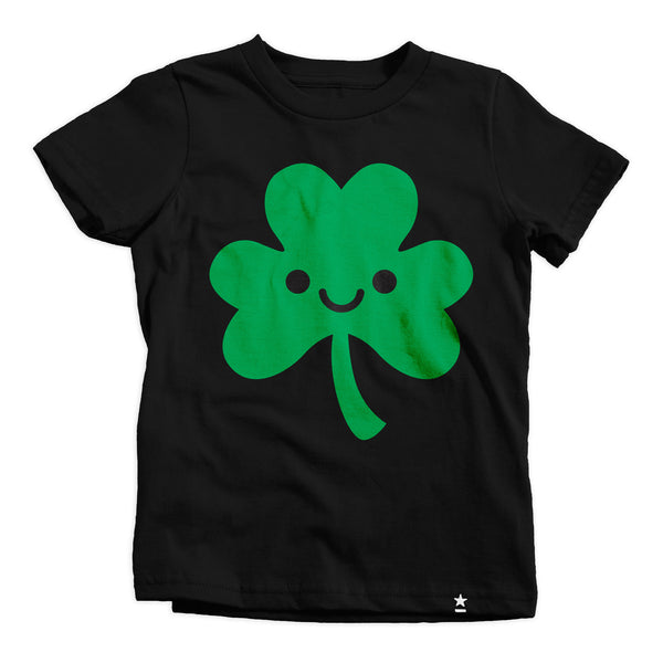 Cutie Shamrock T-shirt - Kids - Stately Type