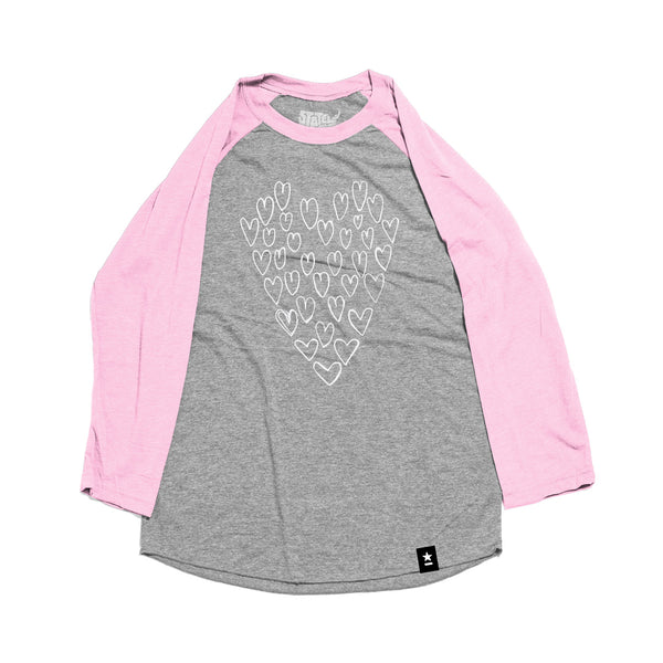 Heart of Hearts Raglan T-shirt - Kids