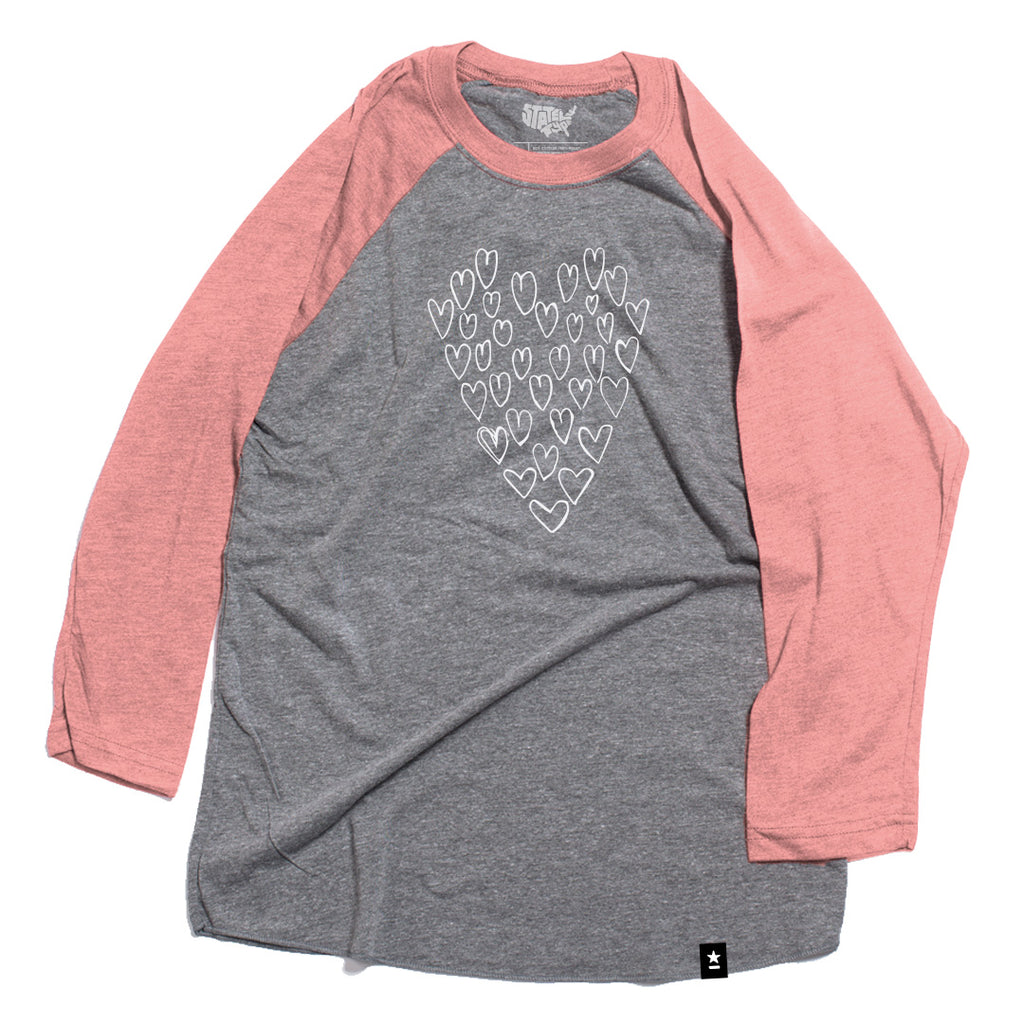 Heart of Hearts Raglan T-shirt