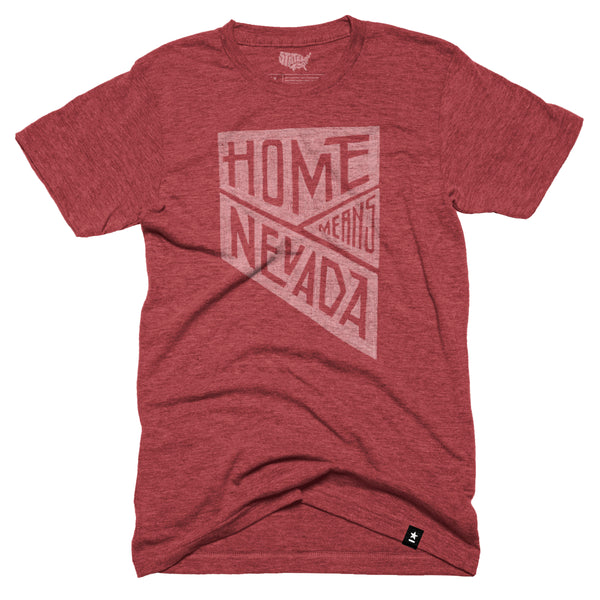 Home Means Nevada T-shirt - Pre-order - Stately Type