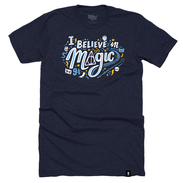 I Believe in Magic T-shirt - Stately Type