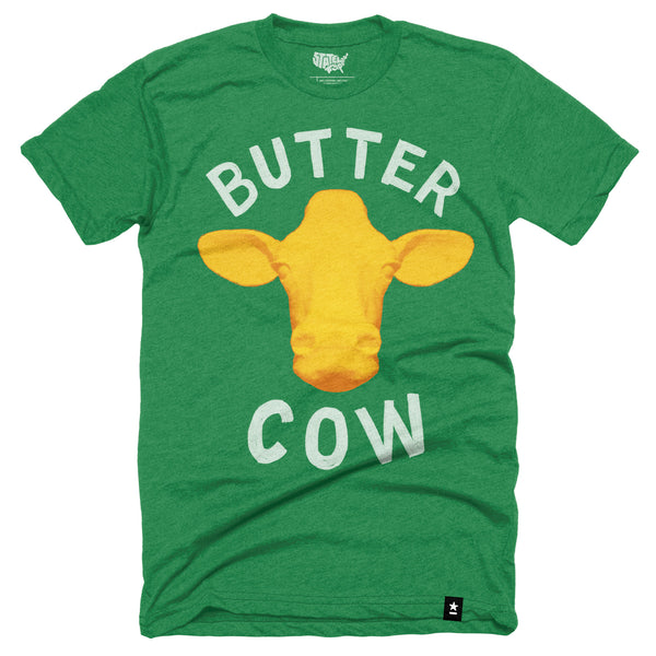 Iowa Butter Cow T-shirt - Stately Type