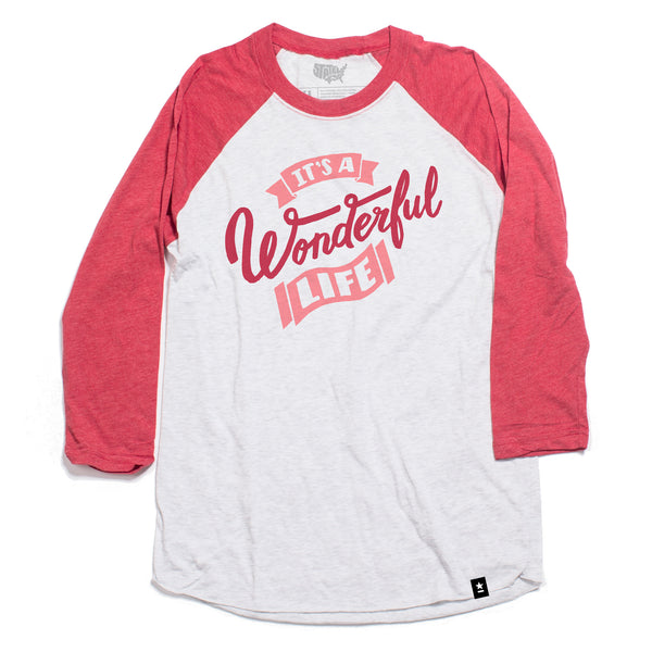 It's a Wonderful Life Raglan - Stately Type
