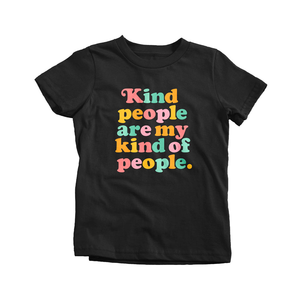Kind People Are My Kind of People T-shirt - Kids