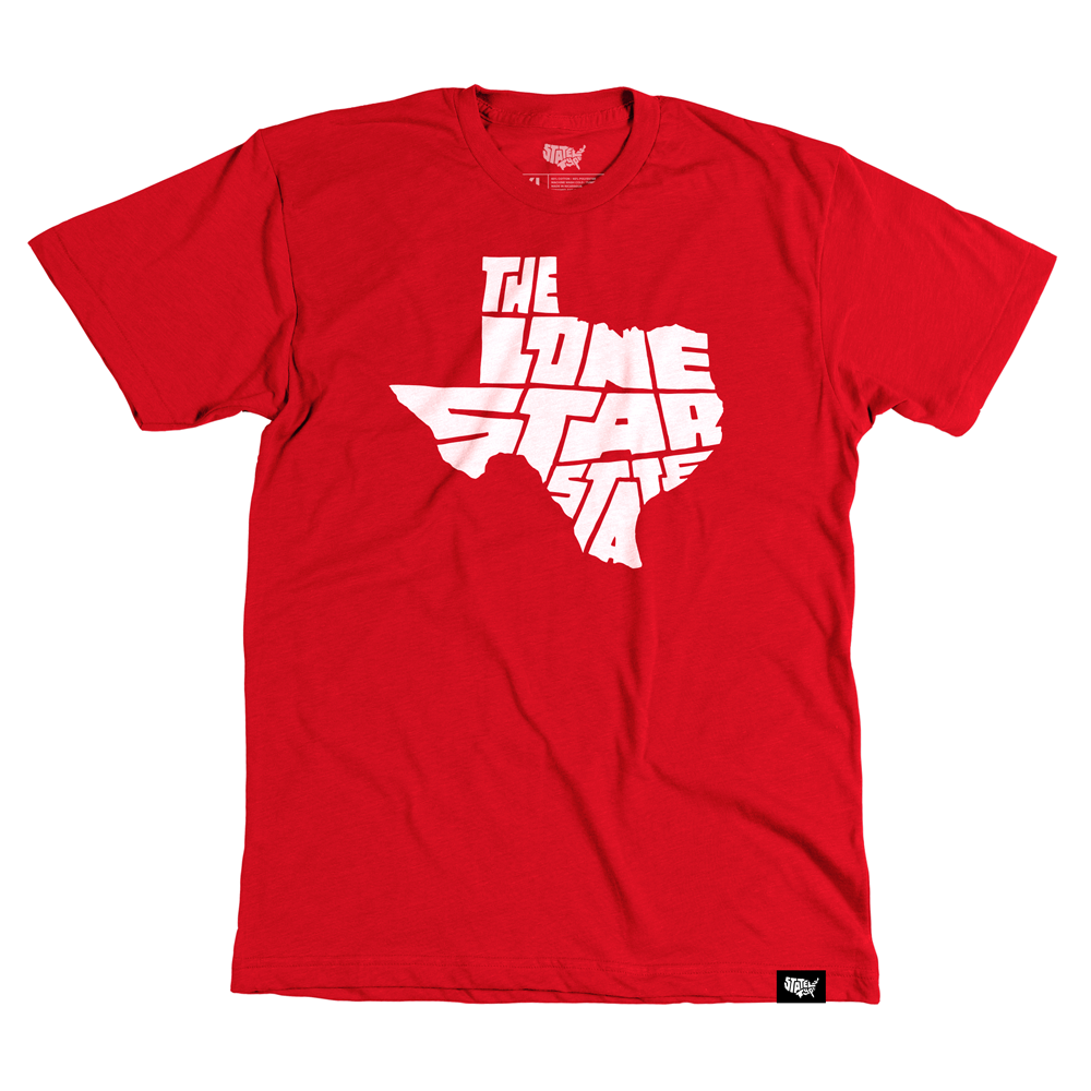 Lone Star State T-shirt - Stately Type