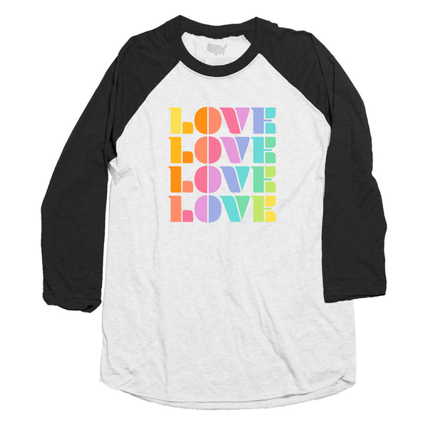Color of Love Raglan T-shirt