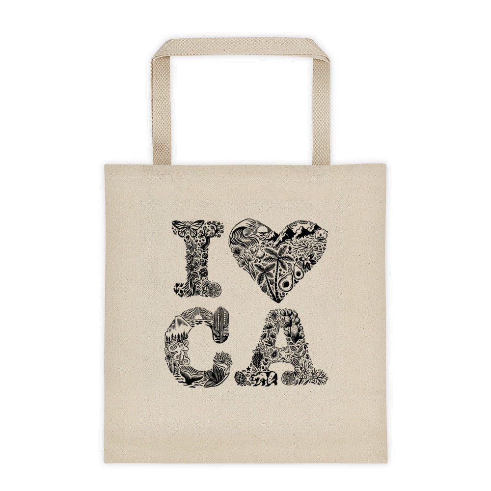 I Love California Tote