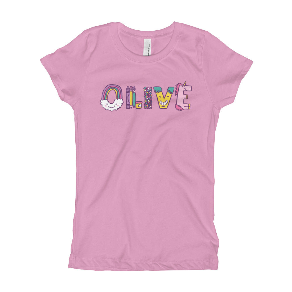 Olive's Favorite Things T-Shirt - Kids