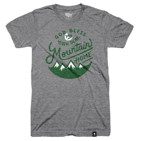Mountain Home T-shirt - The Outdoor Majestic