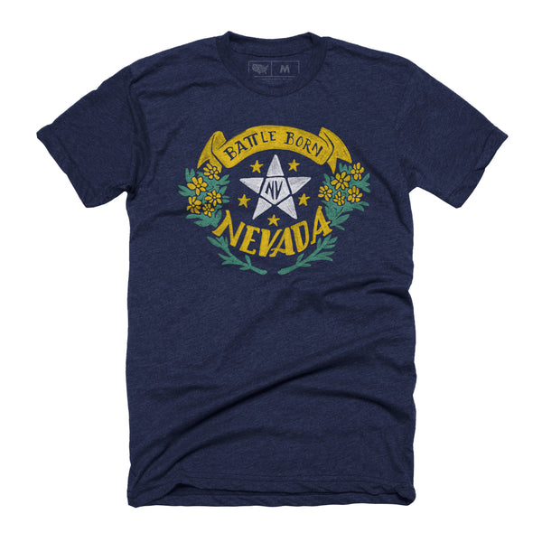 Nevada Battle Born T-shirt