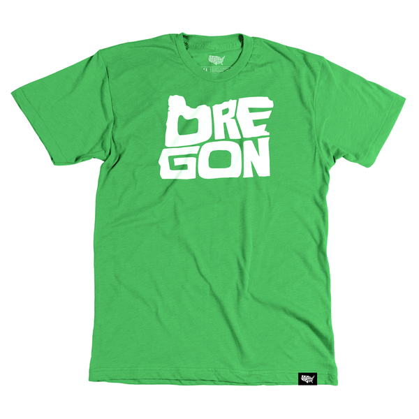 Oregon T-shirt - Stately Type