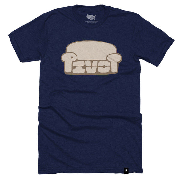 Pivot Couch T-shirt - Stately Type