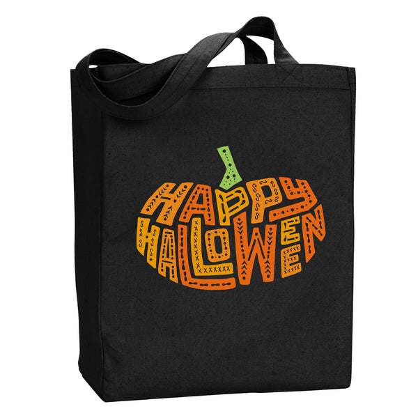 Pumpkin Happy Halloween Tote by Stately Type