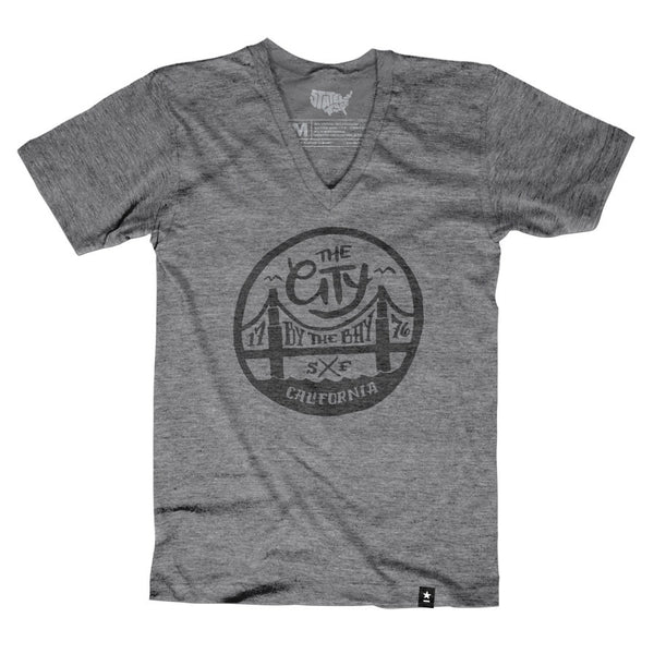 "San Francisco ""The City by the Bay"" T-shirt - Stately Type"