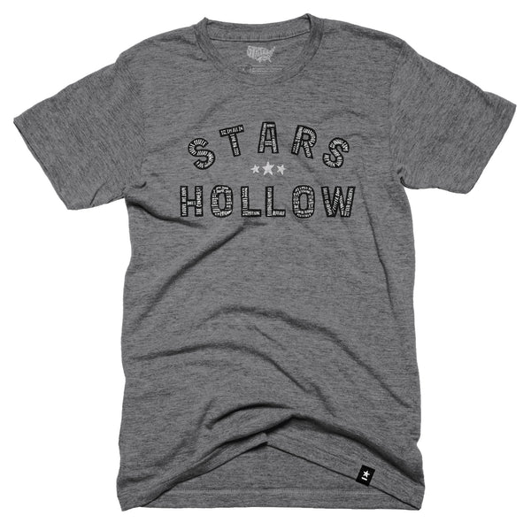 Stars Hollow T-shirt - Stately Type