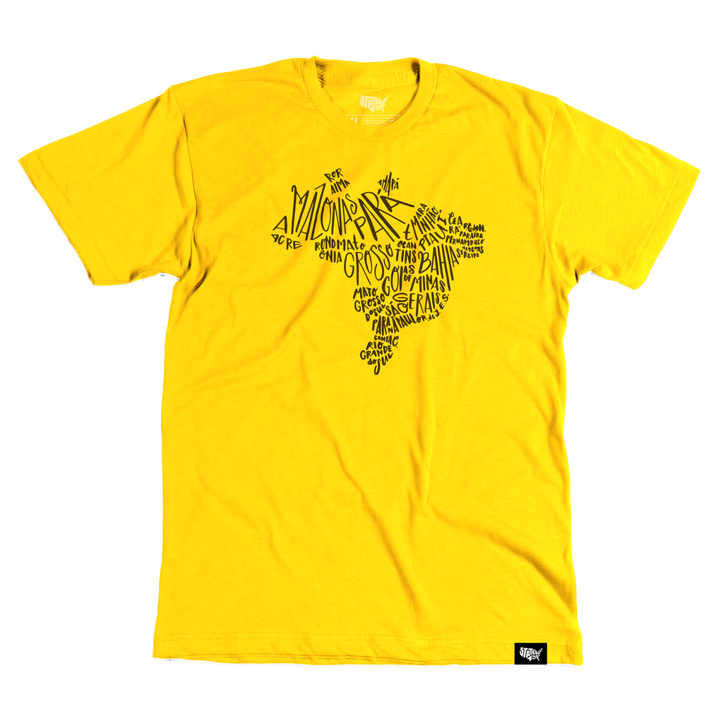 Brazil T-shirt - Stately Type