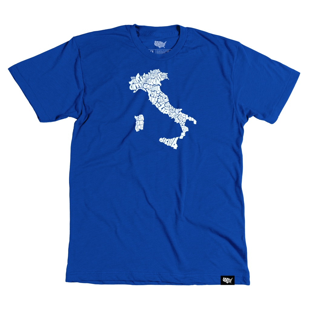 Italy T-shirt - Stately Type