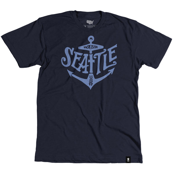 Seattle Anchor T-shirt - Stately Type