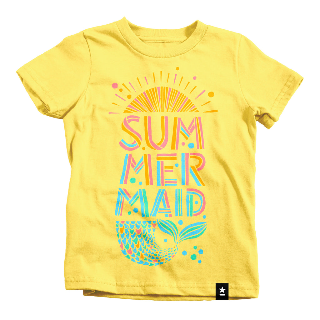 Summermaid (Summer Mermaid) T-shirt - Kids - Stately Type