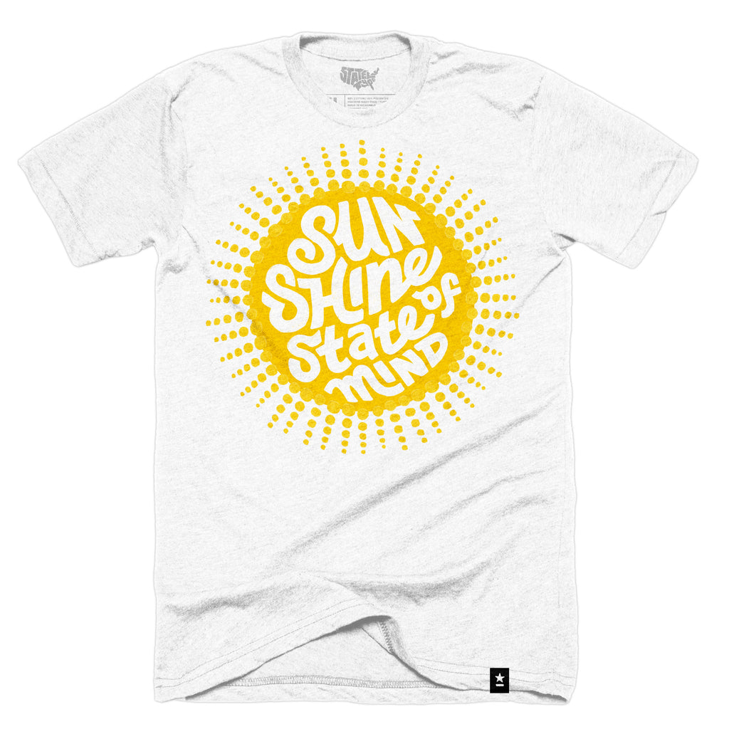 Florida Sunshine State of Mind T-shirt - Stately Type